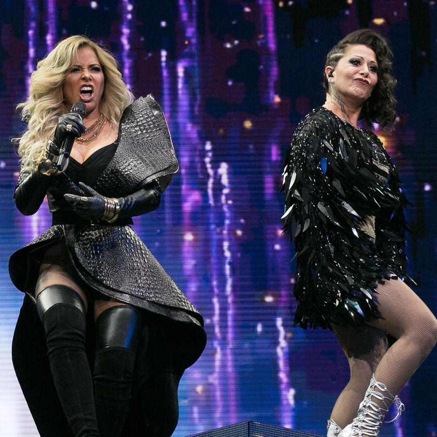 "Alejandra Guzman And Gloria Trevi's ""Versus"" World Tour"