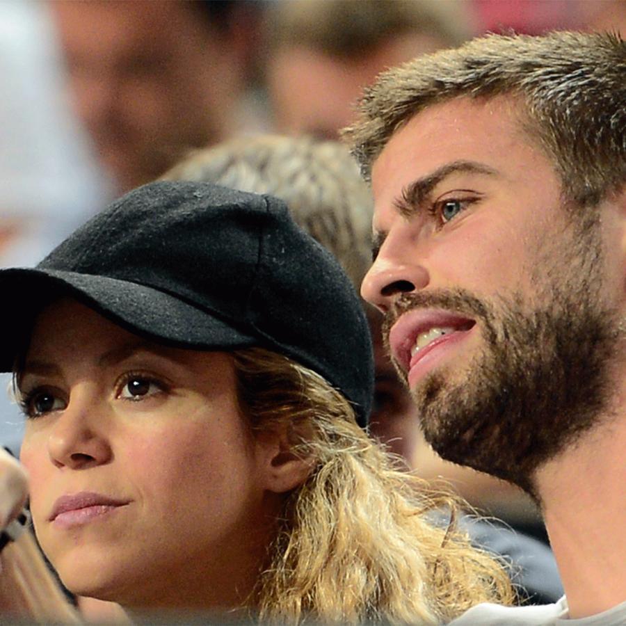 Shakira junto a Gerard Piqué
