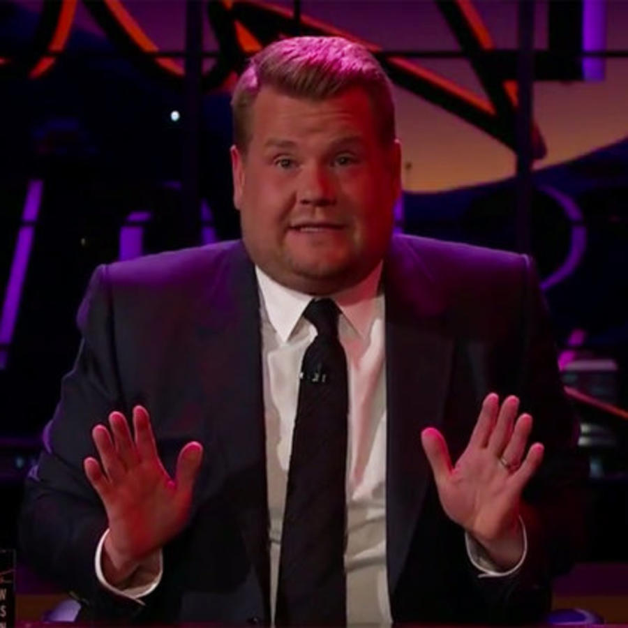 James Corden cantando Despacito