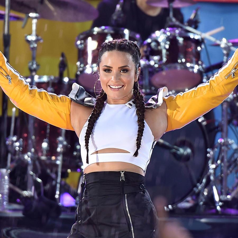 Demi Lovato en conciero en Nueva York