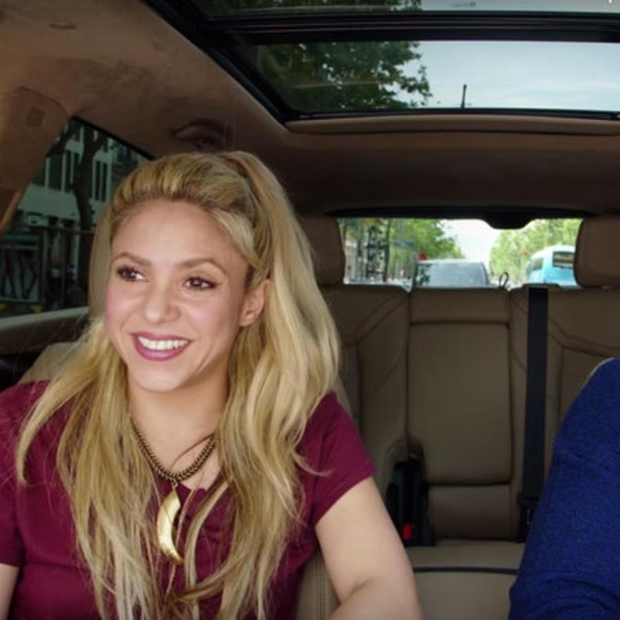 Shakira carpool karaoke