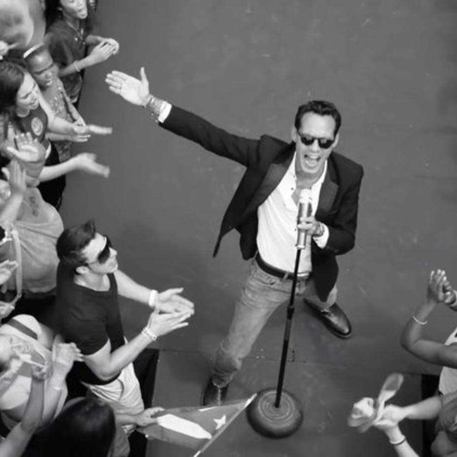 Marc Anthony en Vivir MI Vida