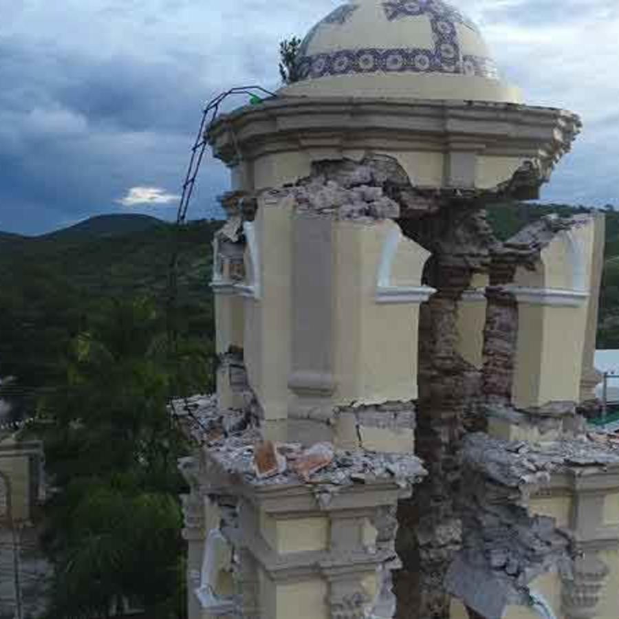 Daños causados por el terremoto en México