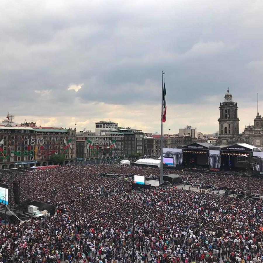 Estamos Unidos Mexicanos  Zocalo
