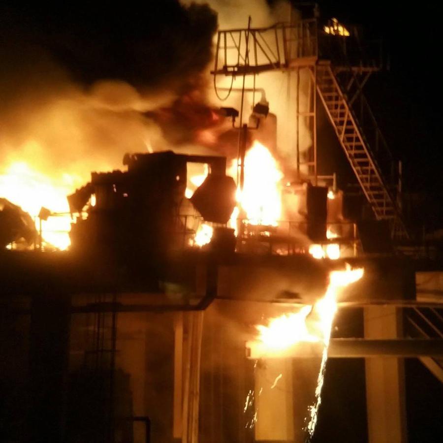 Explosión en plataforma petrolera en Louisiana