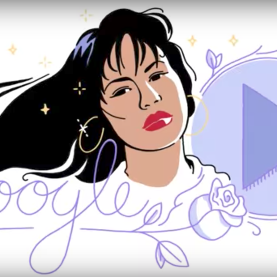 Selena Quintanilla Google Doodle 2017