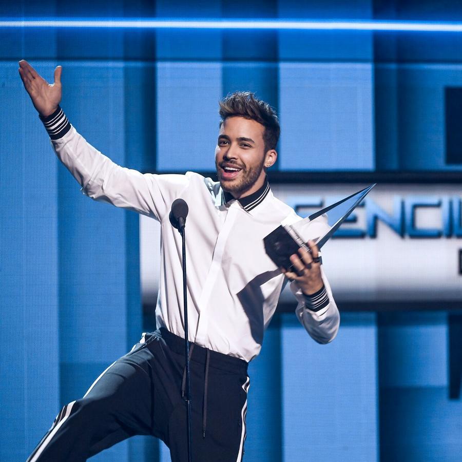 Prince Royce se lleva cuatro premios en los Latin American Music Awards 2017.
