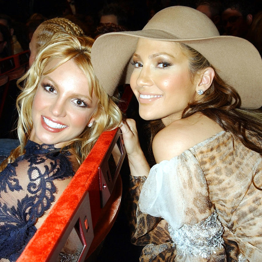 Jennifer Lopez y Britney Spears, MTV Video Music Awards 2001