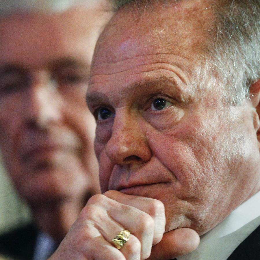 El candidato republicano al Senado, Roy Moore.