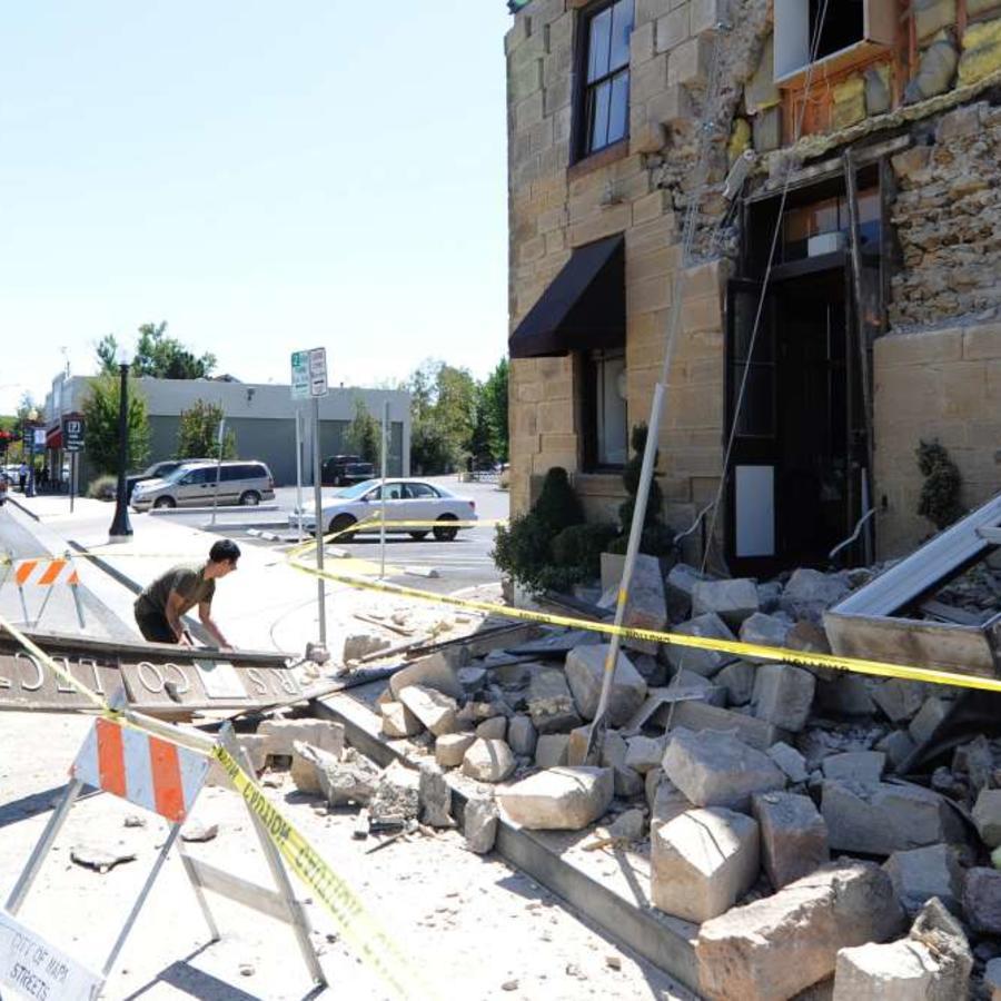 Un terremoto de magnitud 6.0 sacudió Napa en 2014