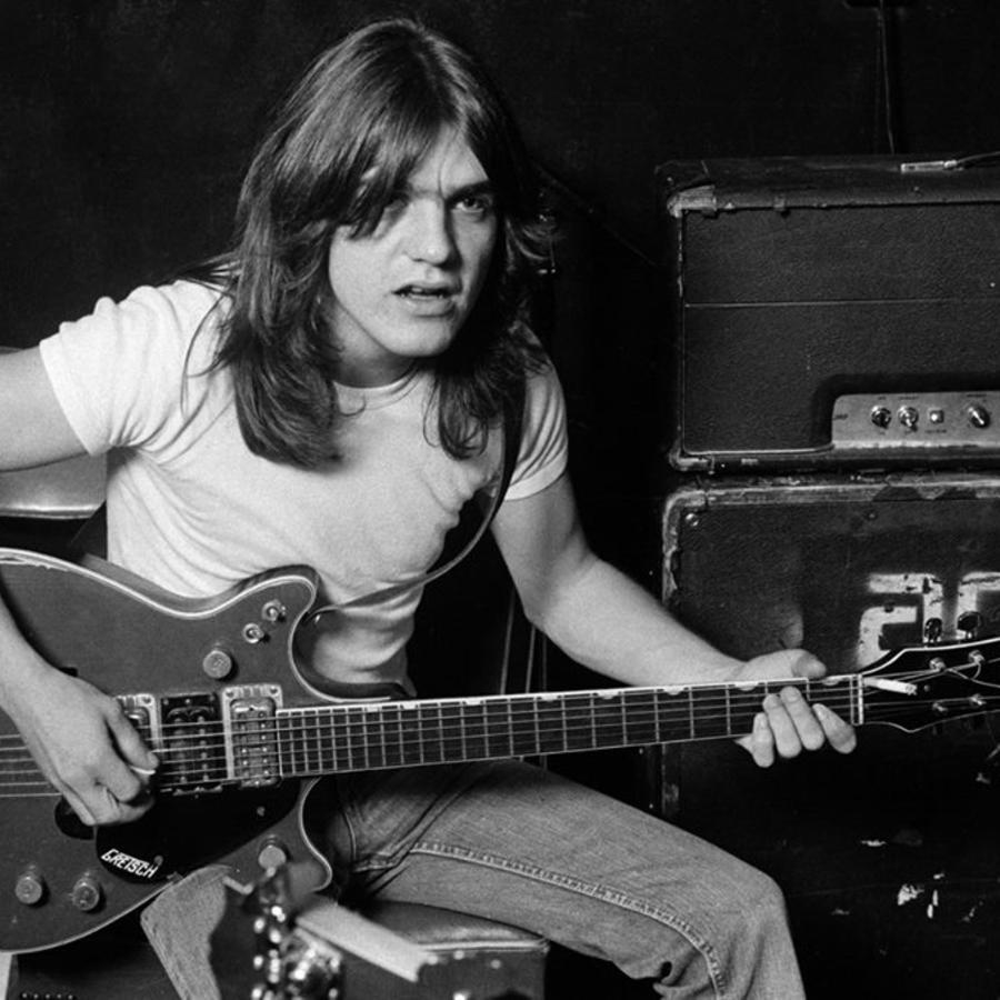 Malcolm Young, guitarrista del grupo AC/DC, muerto a los 64 años en una imagen de archivo