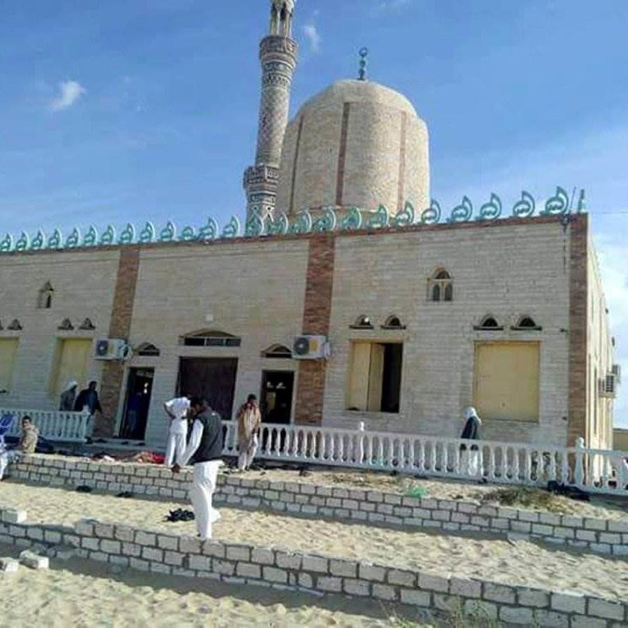 Mezquita escenario de ataque masivo en Egipto