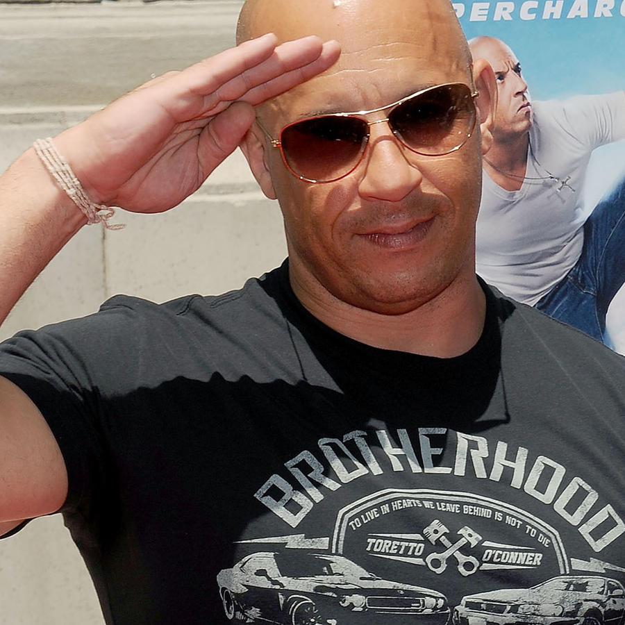 Vin Diesel en premier de Fast & Furious
