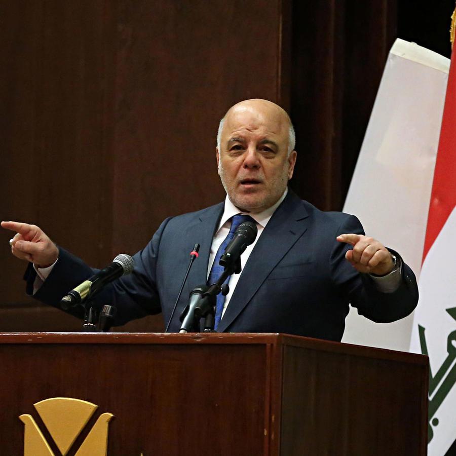 Presidente de Irak, Haider al-Abadi, anuncia el final de la guerra contra ISIS