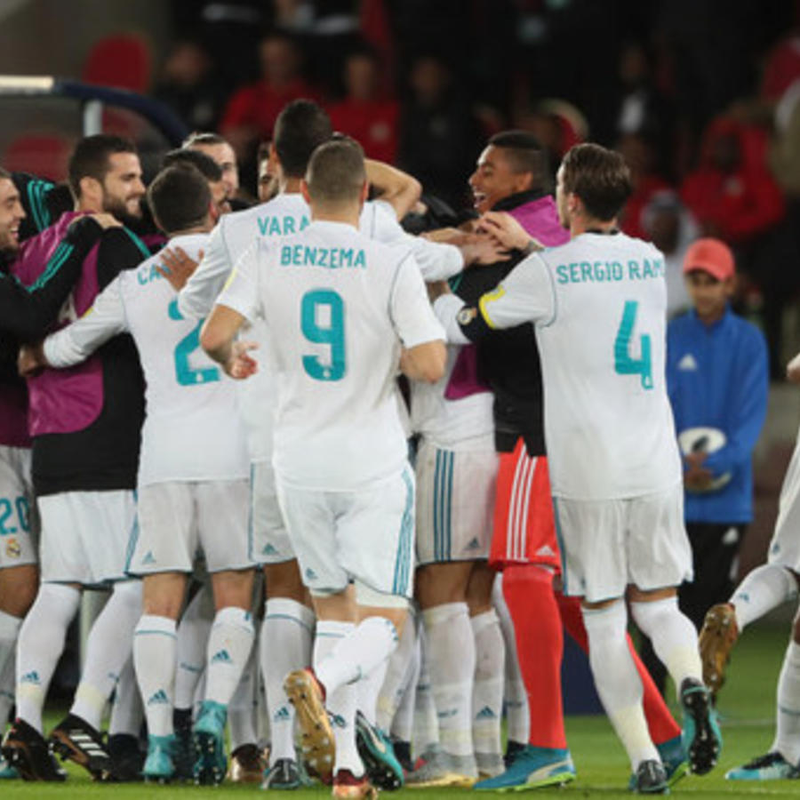 Victoria del Real Madrid frente al brasileño Gremio