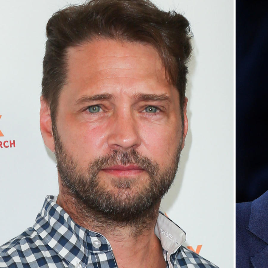 Harvey Weinstein y Jason Priestley
