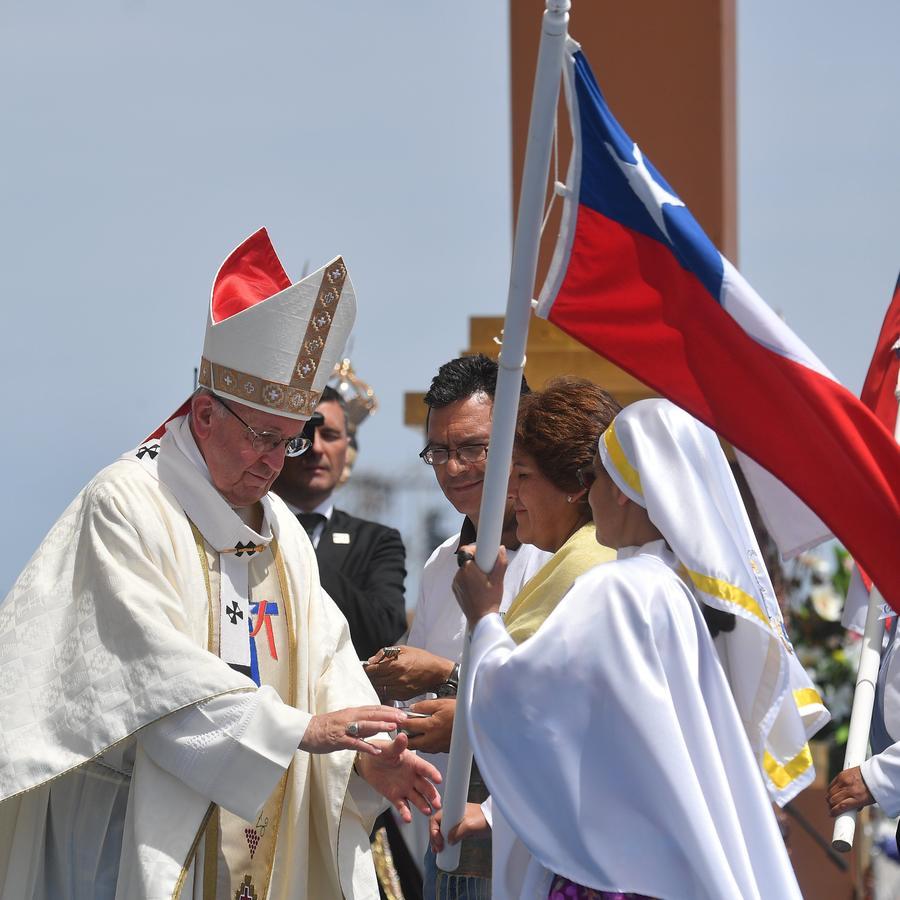 El papa Francisco visita Iquique