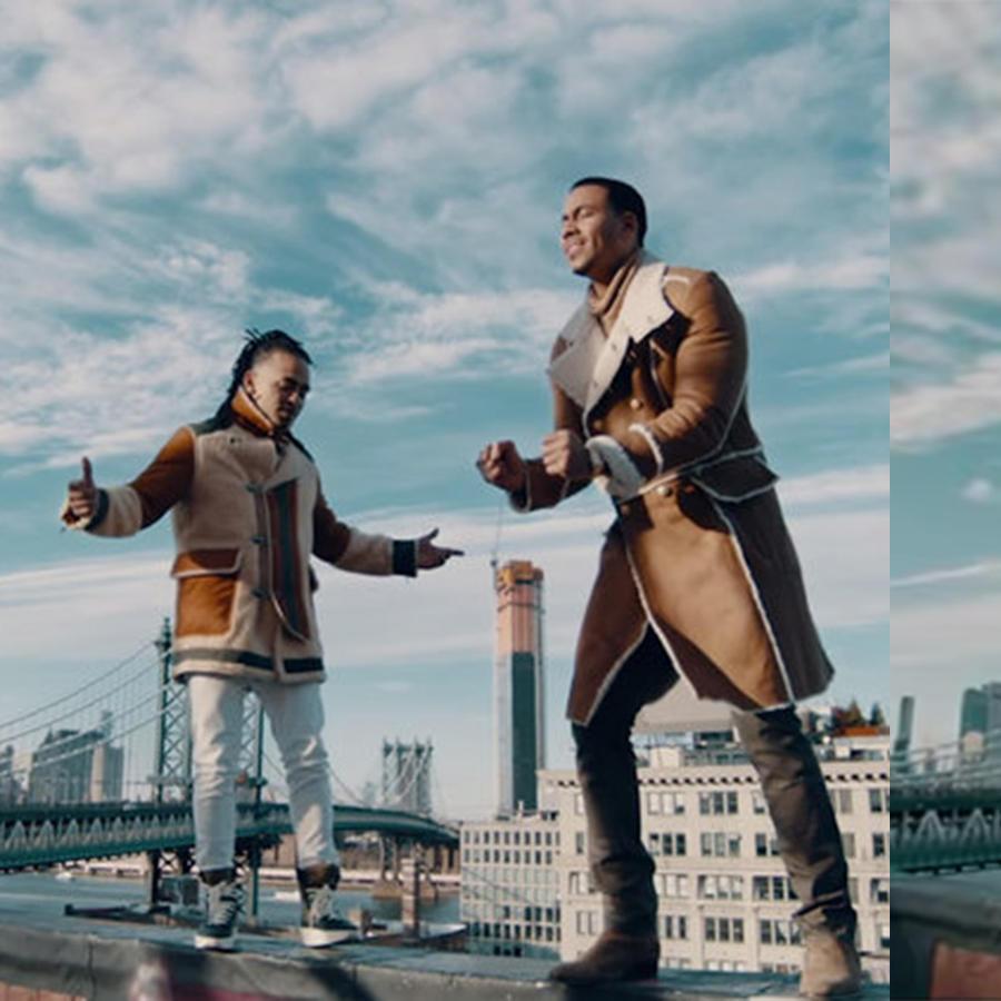 Ozuna and Romeo Santos