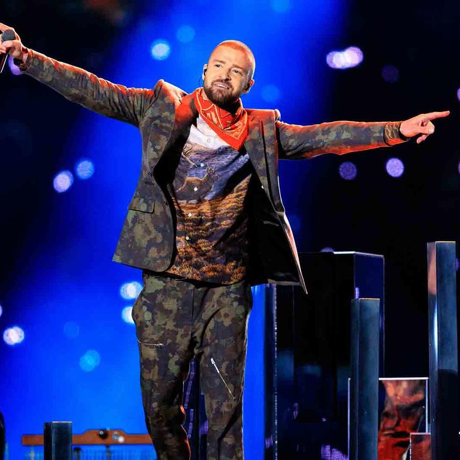 Justin Timberlake 2018 Super Bowl Halftime Show
