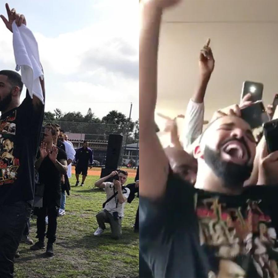 Drake at Miami Senior High