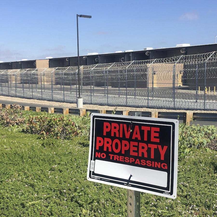Imagen de archivo de un centro de detención en California.