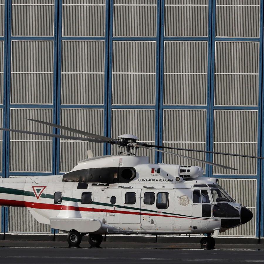 Helicóptero del Ejército de México en una imagen de archivo