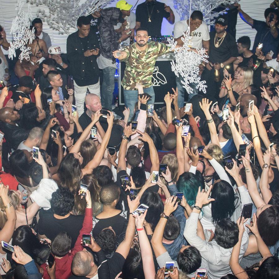 Drake, en un concierto en 2016 en Toronto (Canadá).