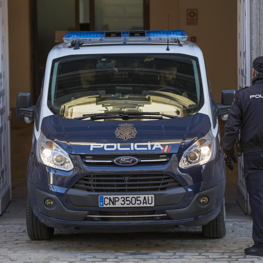 Policía de Madrid, España, en una imagen de archivo del 1 de diciembre de 2017.