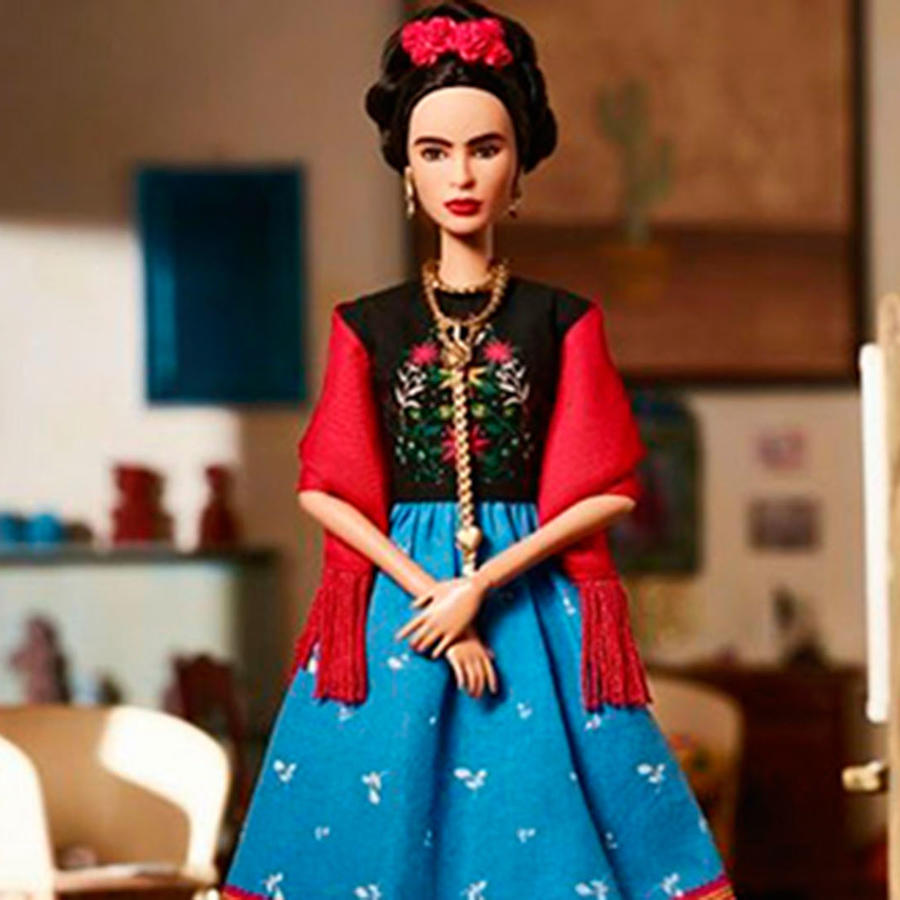 Frida Kahlo Barbie