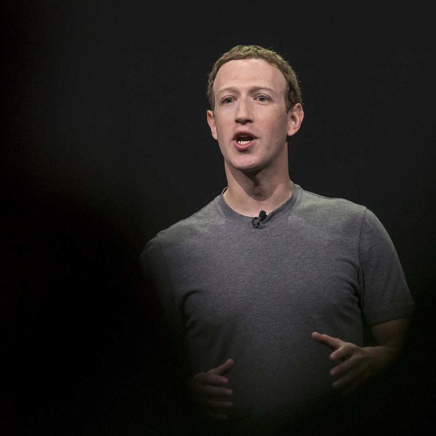 Mark Zuckerberg, el fundador y presidente de Facebook.