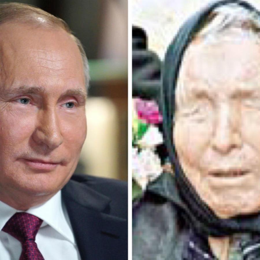 Putin y Vanga