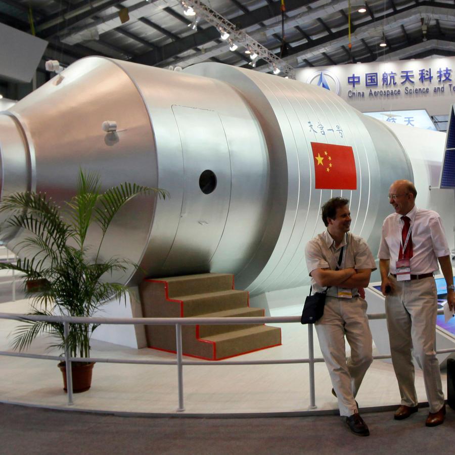 Laboratorio chino que caerá sobre la tierra, desintegrado, en la tarde del domingo