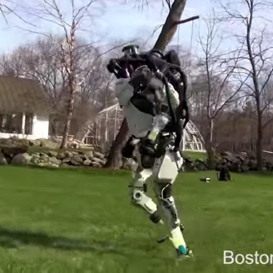 El robot Atlas de la empresa Boston Dynamics