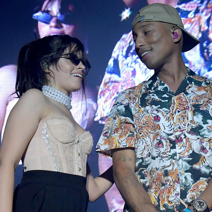 Camila Cabello and Pharrell