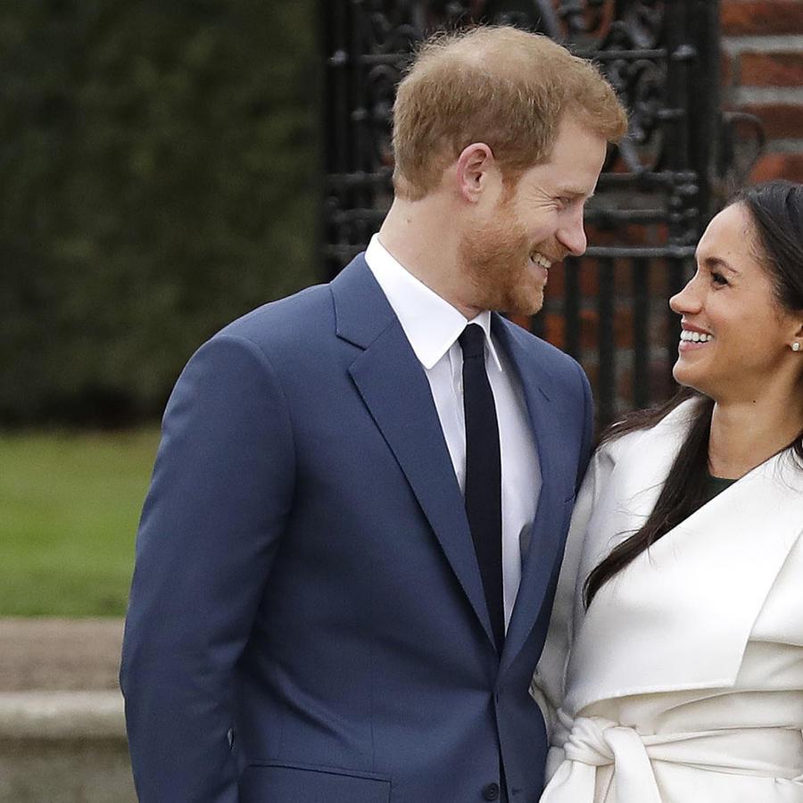 Prince Harris y Meghan Markle