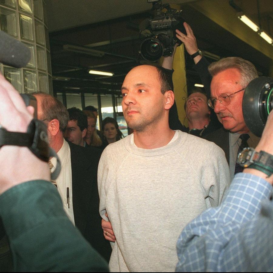 Andrew Urdiales, en abril de 1997 en Chicago.