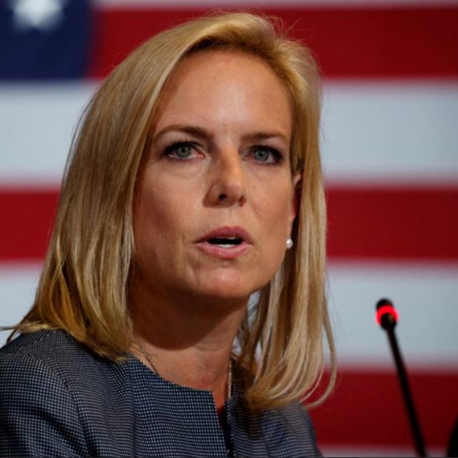 La secretaria de Seguridad Nacional, Kirstjen Nielsen, en una foto de archivo.
