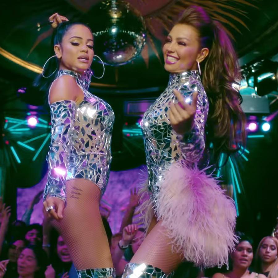 """Thalía y Natti Natasha en """"No me acuerdo"""""""