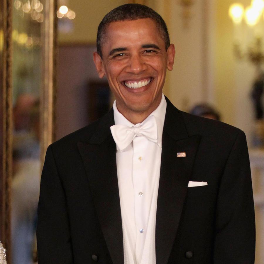 Barack Obama con la reina Isabel II
