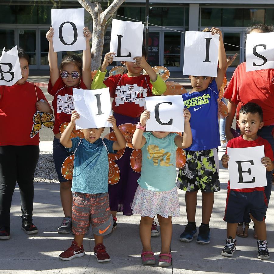 Protestas contra la separación de niños en la frontera