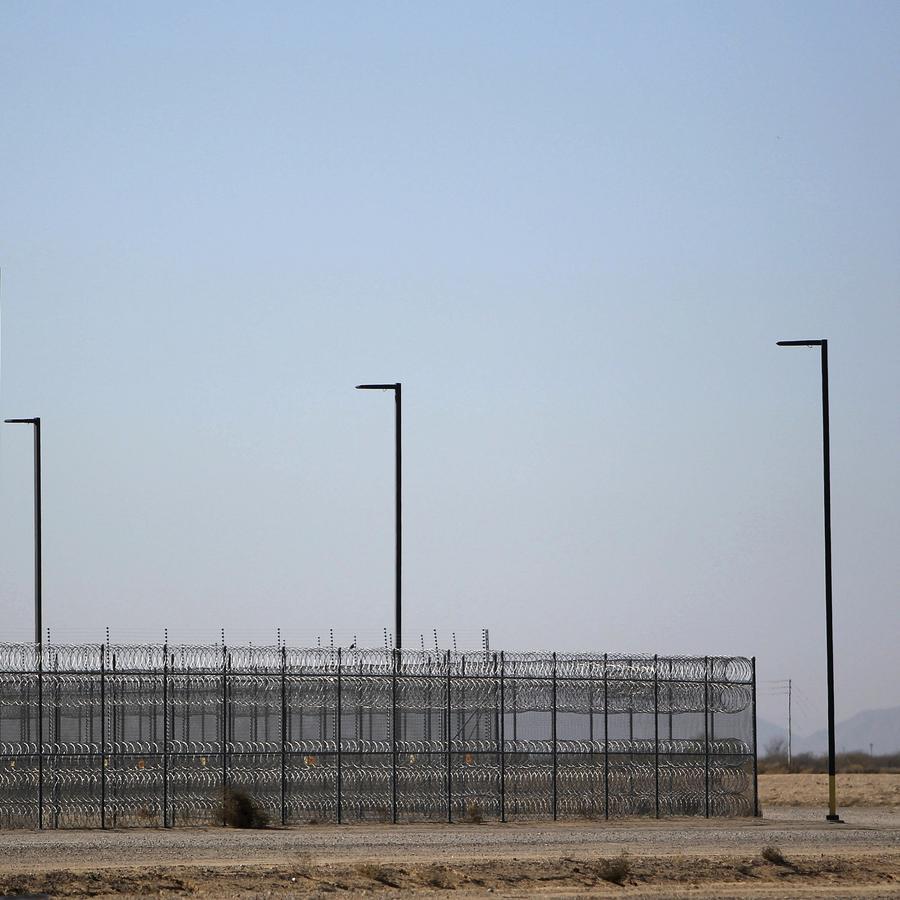 Imagen del Centro de Detención de Eloy, en Arizona.