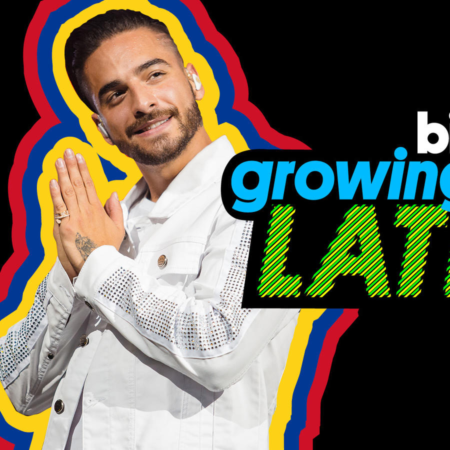 Promocional de Maluma en la serie Growing Up Latino