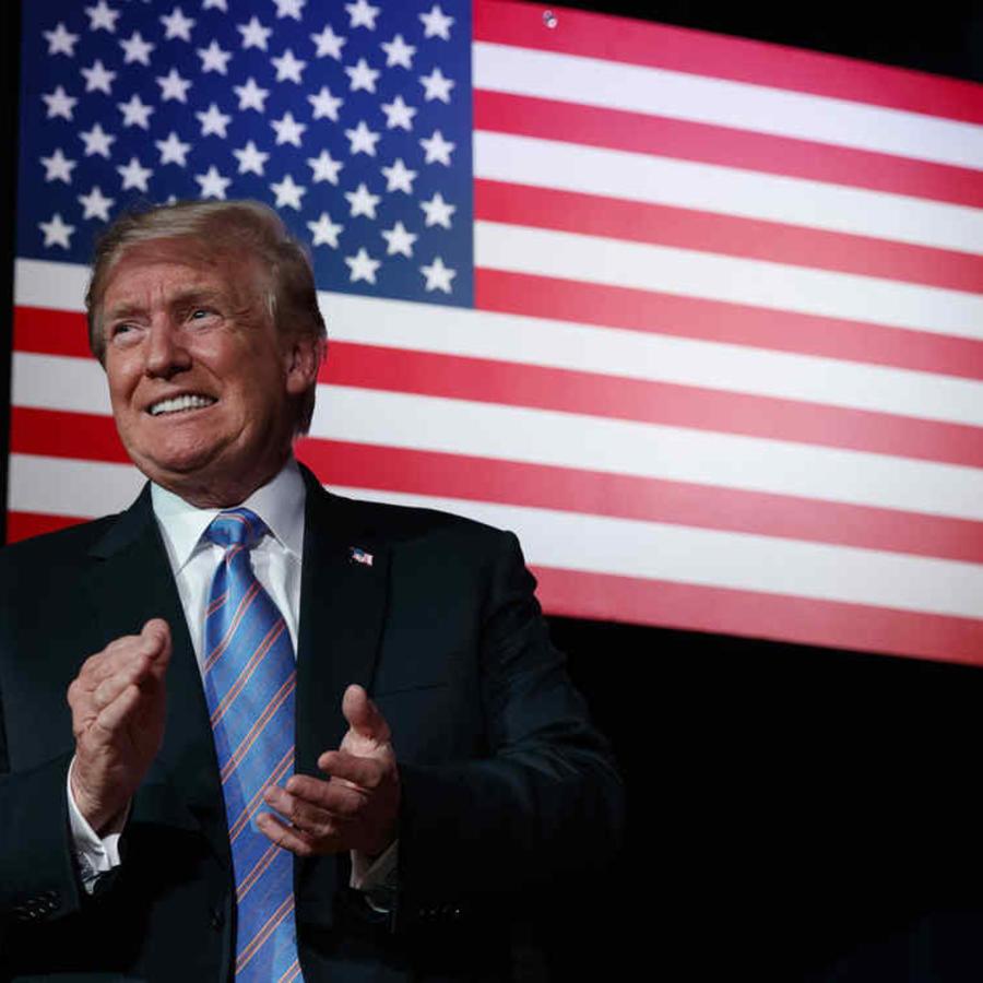 El presidente Donald Trump en una foto de archivo.