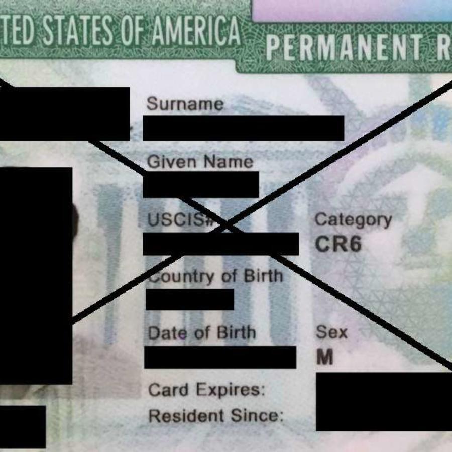 Las leyes migratorias de EEUU son rígidas en este sentido