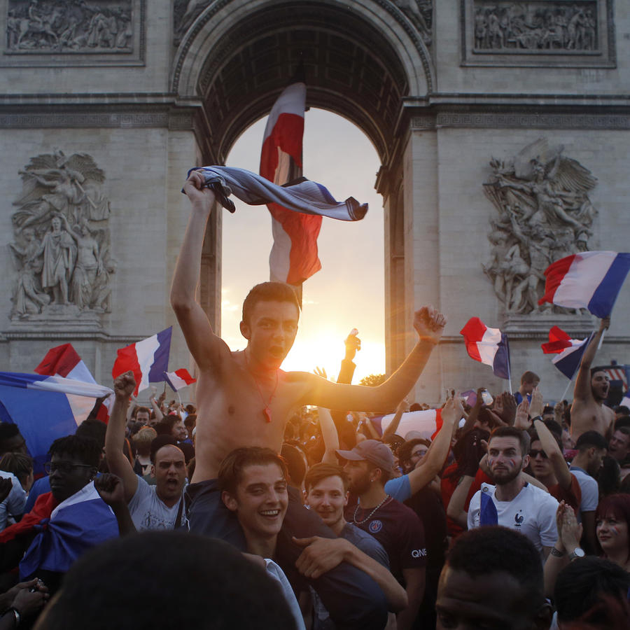 Festejos en París