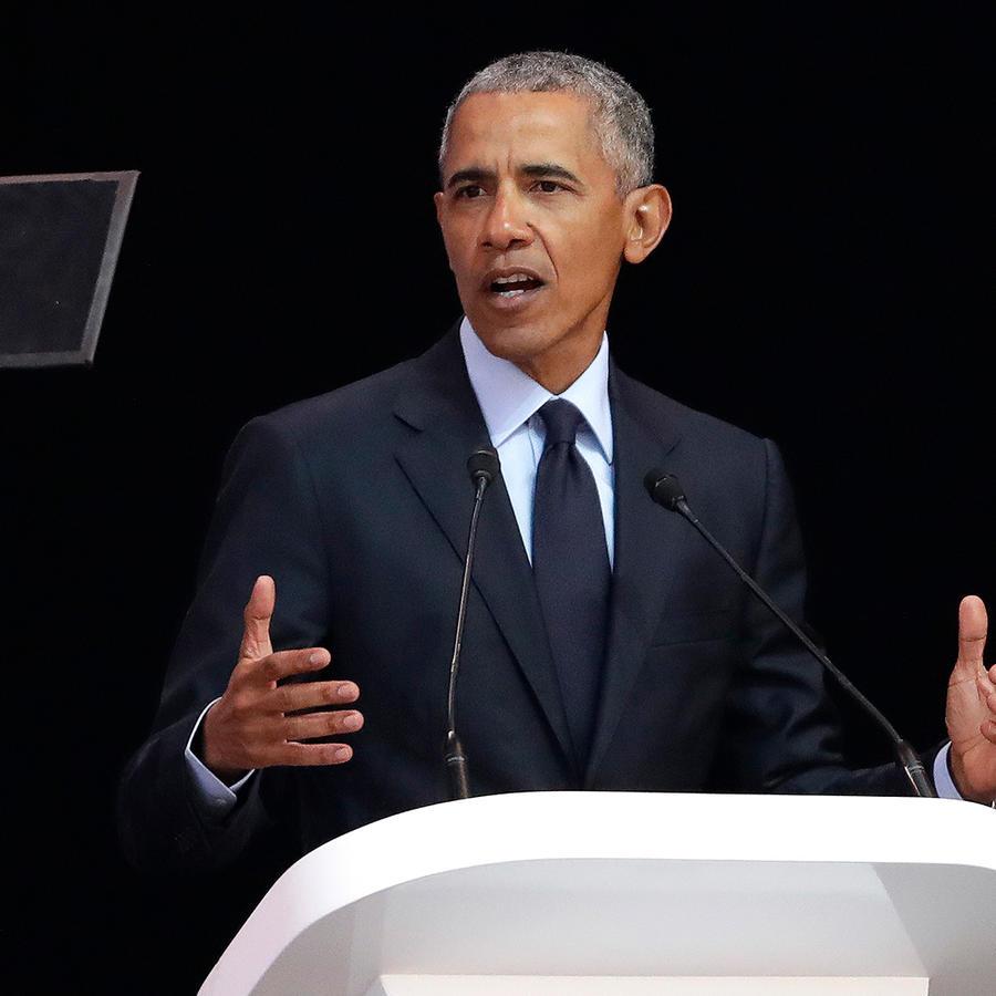 Barack Obama recuerda a Mandela en África del Sur el martes 17 de julio de 2018