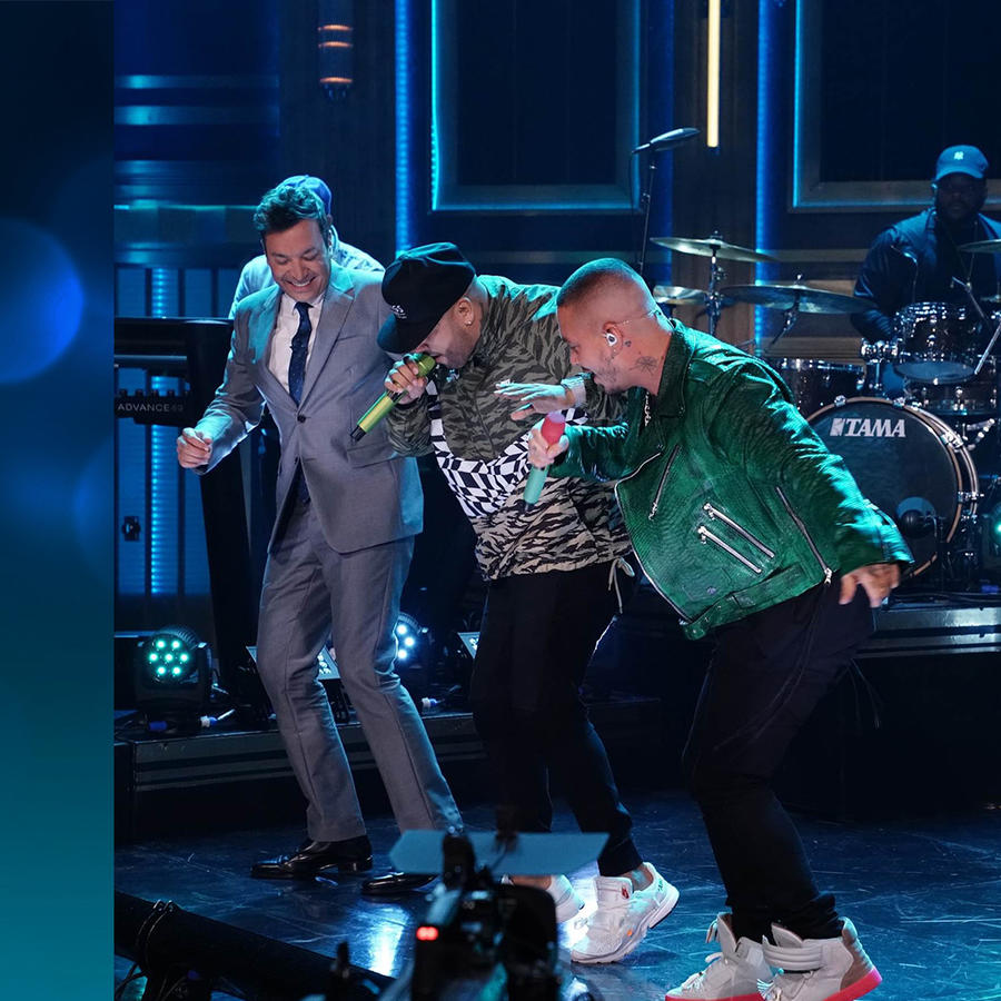 Nicky Jam and J Balvin