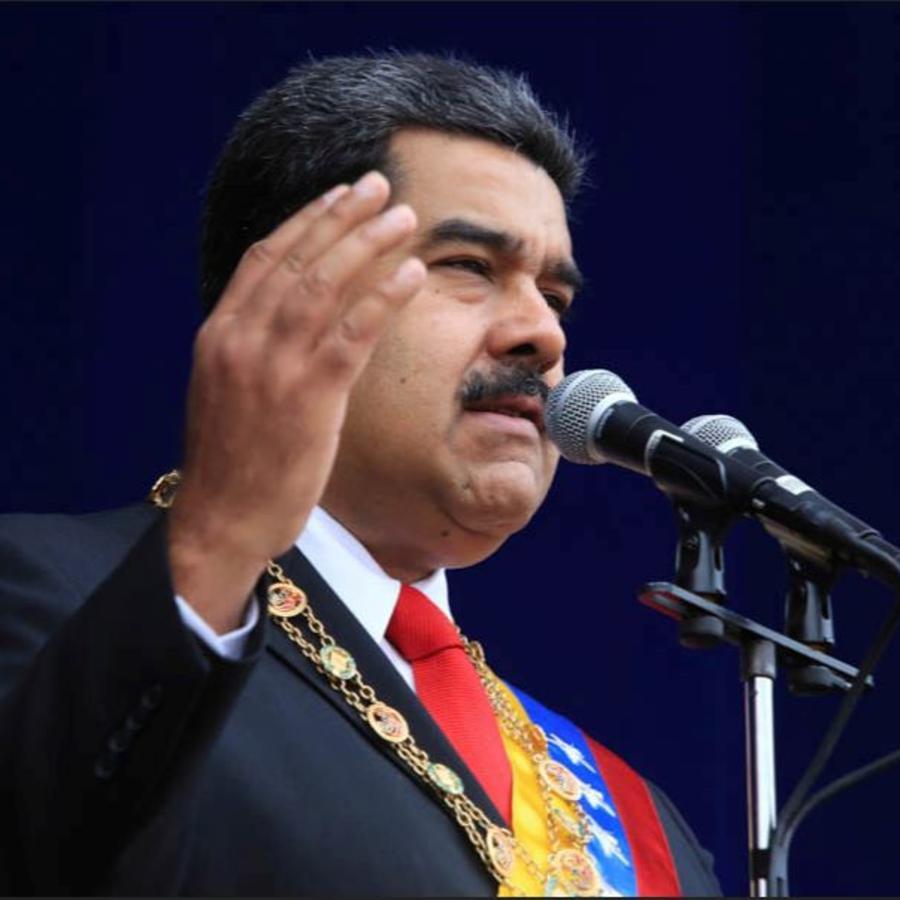 Nicolás Maduro en una foto de archivo.