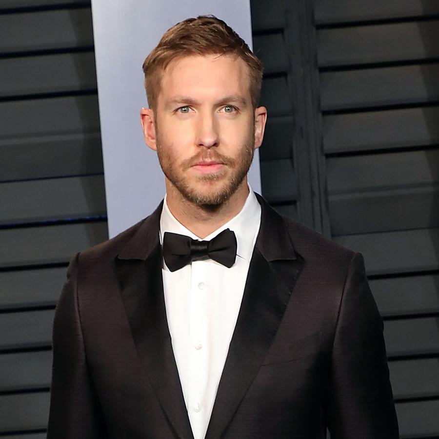 Calvin Harris wearing suit