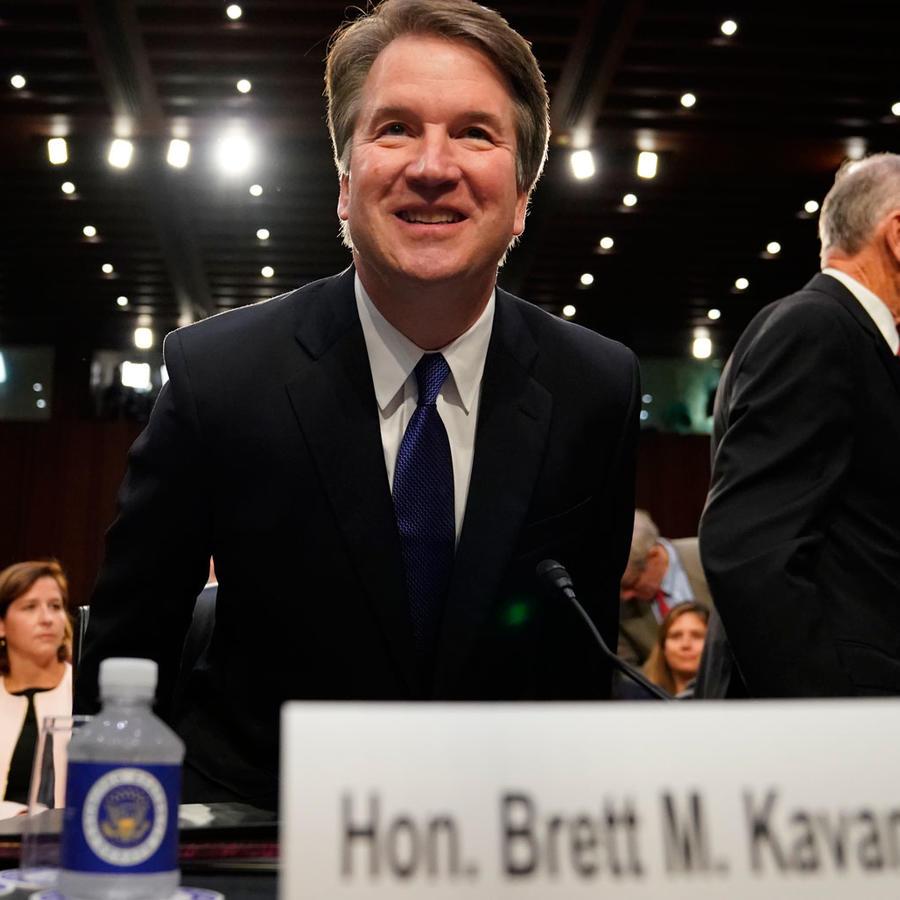 El juez Brett Kavanaugh durante su audiencia de confirmación en el Senado, el 4 de septiembre de 2018